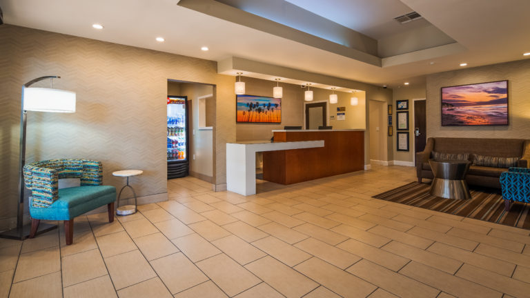 Lobby of Best Western Plus South Coast Inn Goleta