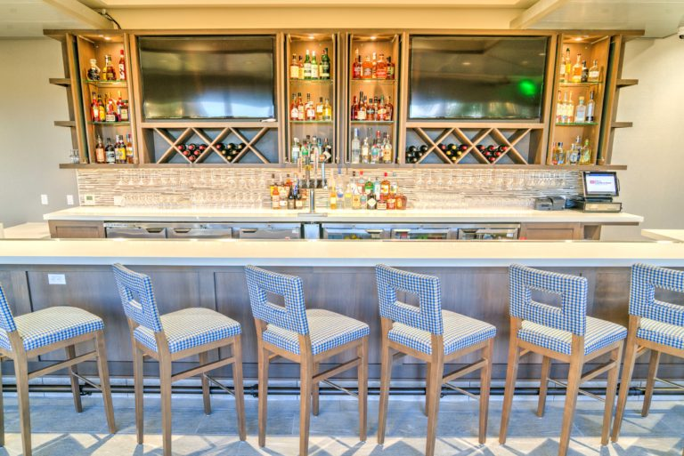 Bar at the Hilton Garden Inn
