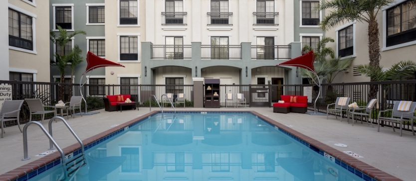 The Hampton in is just one of many wonderful lodging options in Goleta, California.